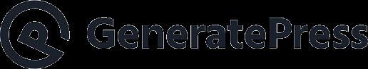 generate press logo